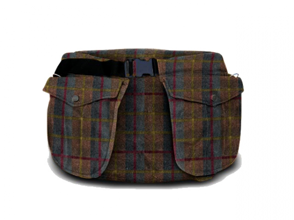 Picking-up belt Classic waxed cotton tweed i gruppen Träning / Jakt / Picking-up vests/Belts / Belt waxed cotton hos PAW of Sweden AB (6002TW)