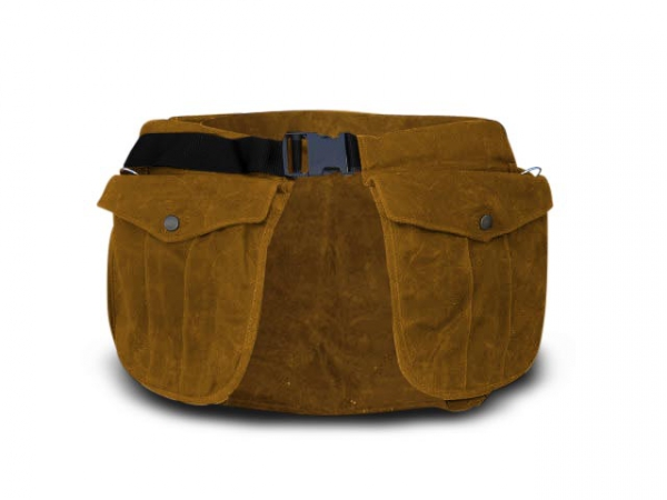 Picking-up belt Classic waxed cotton nougat i gruppen Jakt / Picking-up vests/Belts / Belt waxed cotton hos PAW of Sweden AB (6002WCLB)