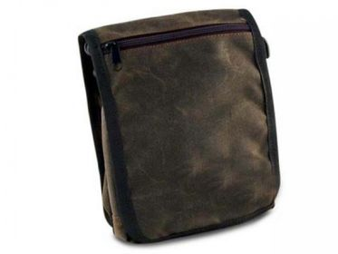 PAW of Sweden�s Messenger Bag Classic Waxed cotton brun